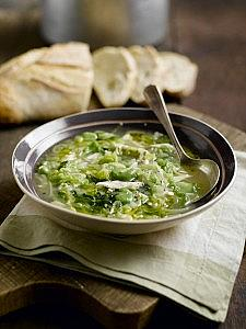 Leek-and-Smoked-Chicken-Soup