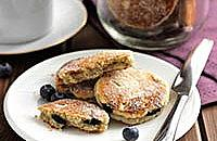 Blueberry Welsh cakes