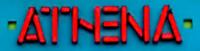 Athena Shop sign Logo