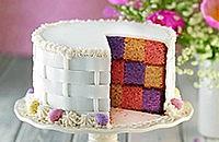 Peekaboo cake