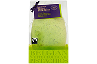 Taste the Difference Belgian White Chocolate Egg with Pistachios
