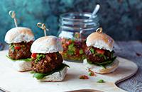 Keema lamb sliders