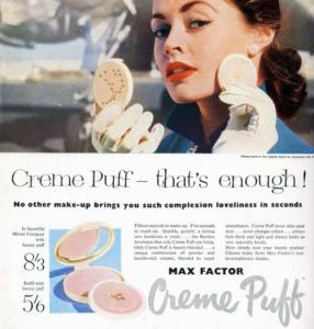 Max Factor's Crème Puff Powder Compact