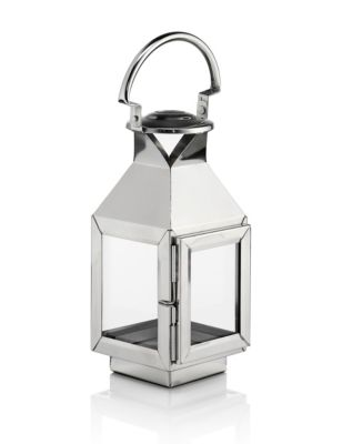 m&s - small metal lantern
