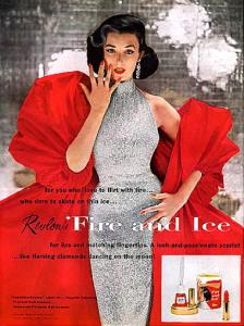 Revlon Touch Fire & Ice Lipstick and Nail Enamel