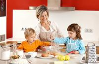 Healthy meals to cook with kids