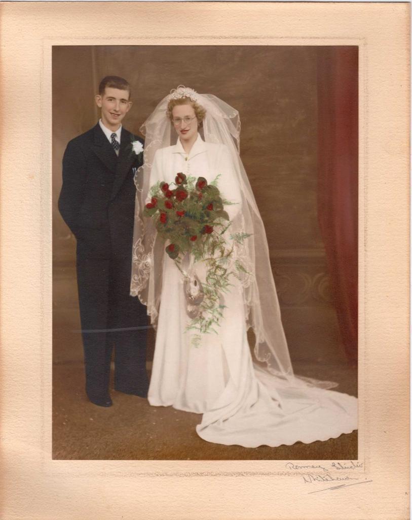 Jimmy & Rita Watson Wedding photo