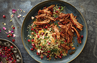 Moroccan pulled pork