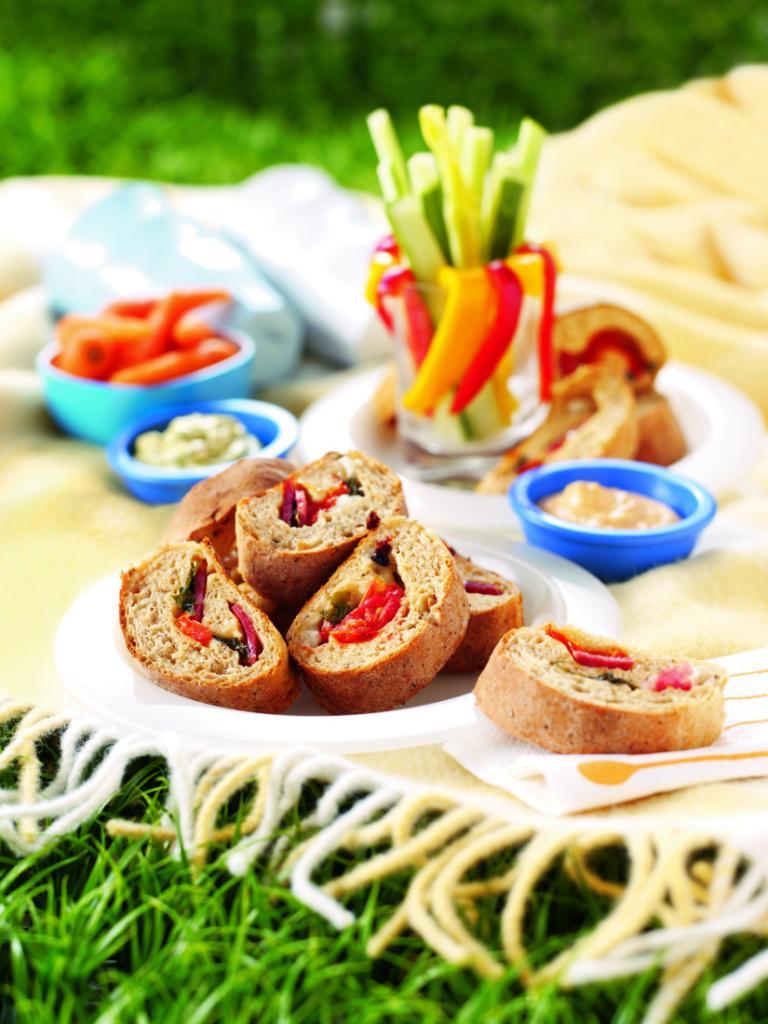 Cheesy picnic bread