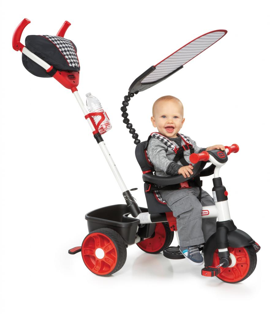 634345C 4-in-1 Sports Edition Trike Red (1)