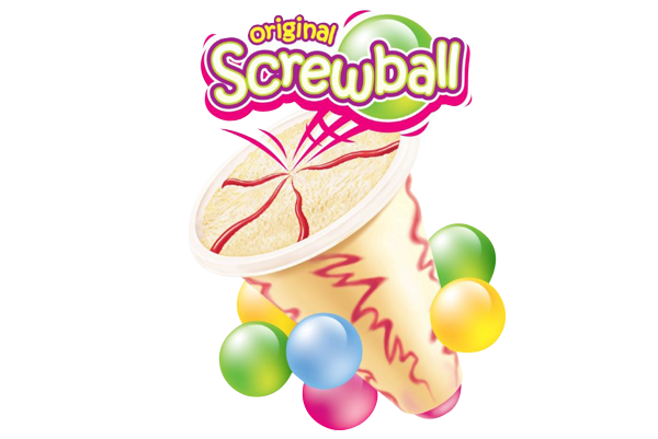 Screwball Sticker (3) direct wholesale foods direct wholesale foods