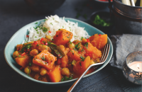Goan squash and coconut curry