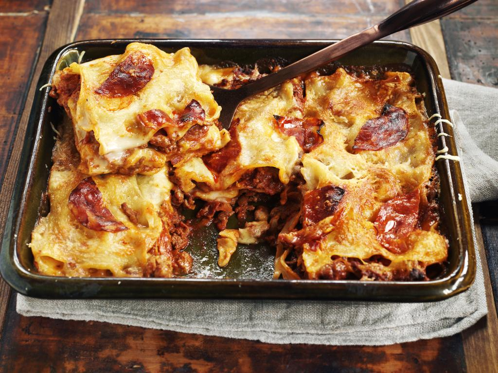 Lasagne with chorizo 2