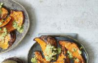 Grilled pumpkin