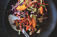 Rainbow winter slaw