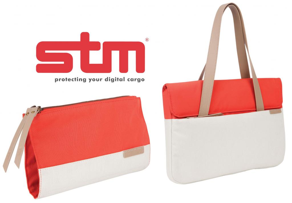 stm grace clutch front angle coral dove lowres
