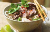 Fragrant beef noodle soup