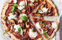 Grain free plantain pizza