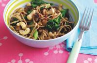 Aubergine noodles