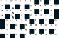 Codeword Puzzle November 2016