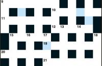 Cryptic crossword December 2016