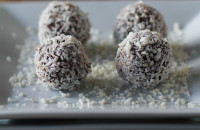 Beetroot superfood truffles