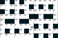 Codeword Puzzle January 2017