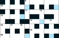Cryptic crossword January 2017