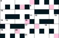 Quick crossword January 2017
