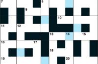Cryptic crossword February 2017