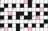 Quick crossword March 2017
