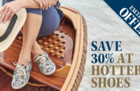 SAVE 30% AT HOTTER SHOES
