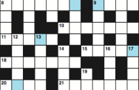 Cryptic crossword May 2017