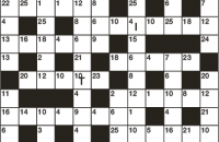 Codeword Puzzle June 2017