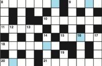 Cryptic crossword July 2017