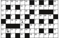 Codeword Puzzle September 2017