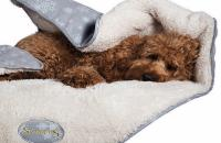 Snuggly dog's blanket to win!