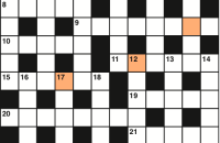 Quick crossword December 2017