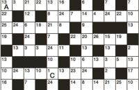 Codeword Puzzle January 2018
