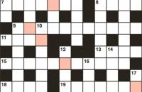 Quick crossword January 2018