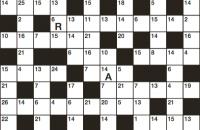 Codeword Puzzle February 2018