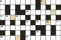 Cryptic crossword March 2018