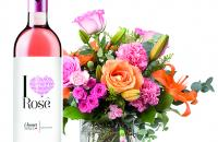 Say it with flowers – and wine!