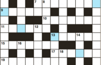 Cryptic crossword April 2018