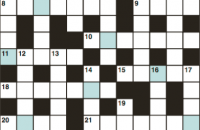 Cryptic crossword May 2018