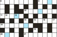 Cryptic crossword July 2018