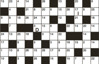 Codeword Puzzle August 2018