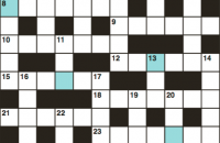 Cryptic crossword August 2018