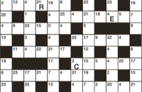 Codeword Puzzle September 2018