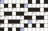 Cryptic crossword October 2018